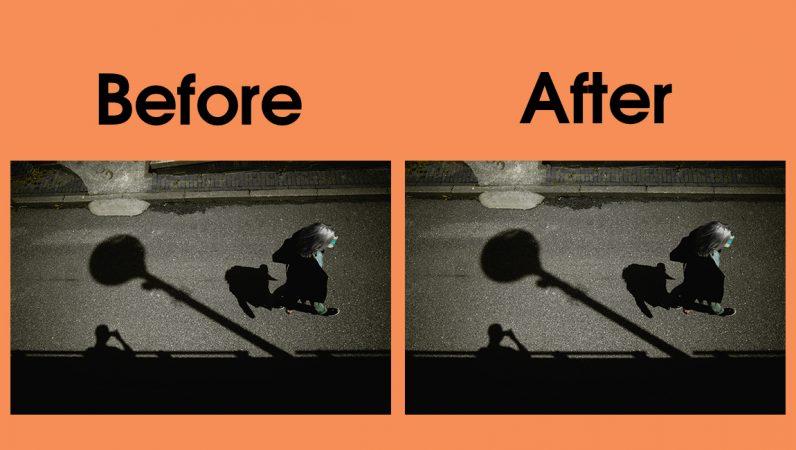 photoshop, straigten, images, symmetry, free transform, lightroom, adobe