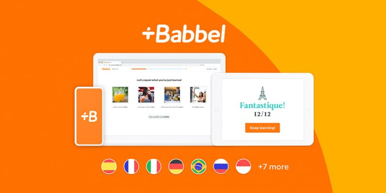 Learn new languages with highly-reviewed app Babbel and save up to 50%