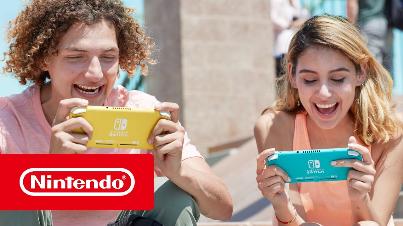 Nintendo's new Switch Lite can't actually 'switch'