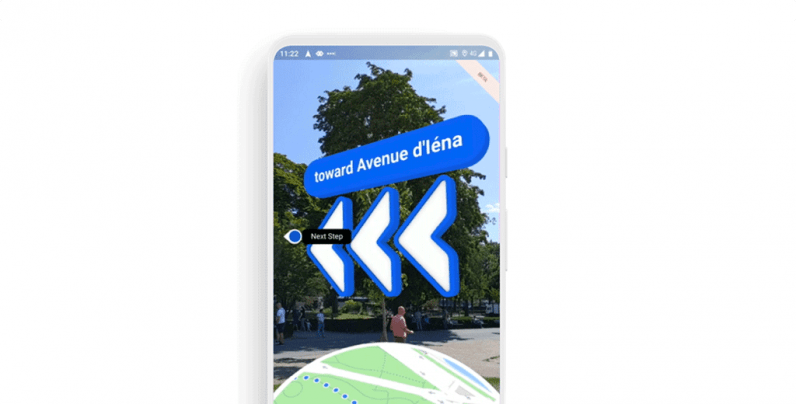 Google Maps' easy-to-follow AR walking navigation feature is rolling out to more phones