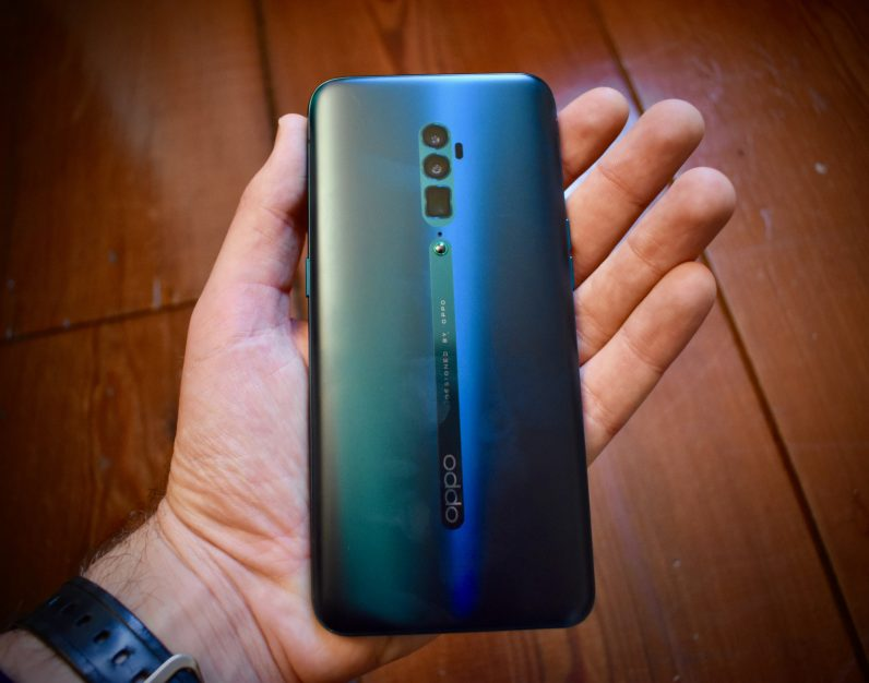 Oppo Reno rear photo
