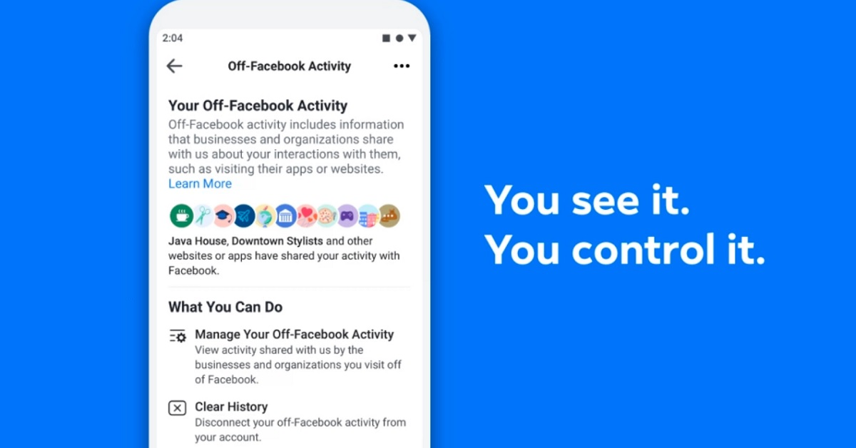 Facebook now lets you (sorta) control what info it gets from other sites