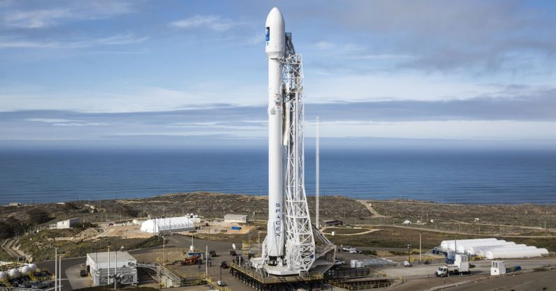 SpaceX Aims for Tuesday Launch of Israeli Communications Satellite Amos-17