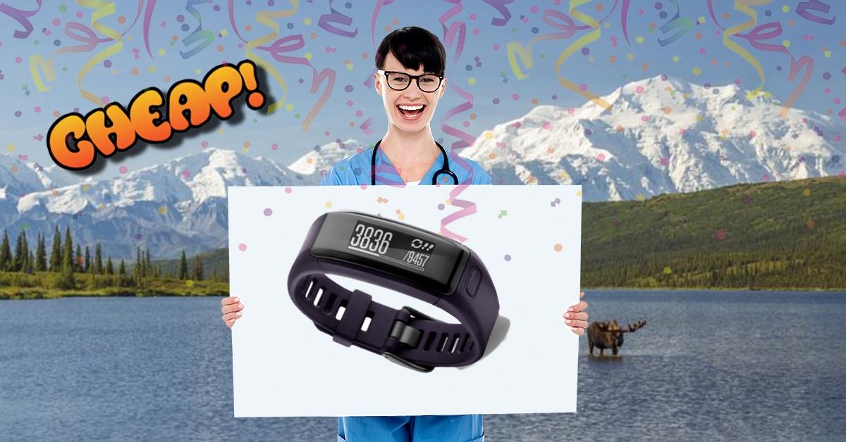 CHEAP: Run to catch $30 off the Garmin vívosmart HR fitness tracker!