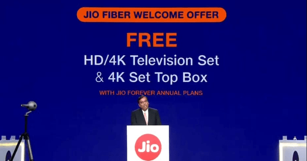 Reliance Jio Has Over 340 Million Subscribers, Claims Mukesh Ambani