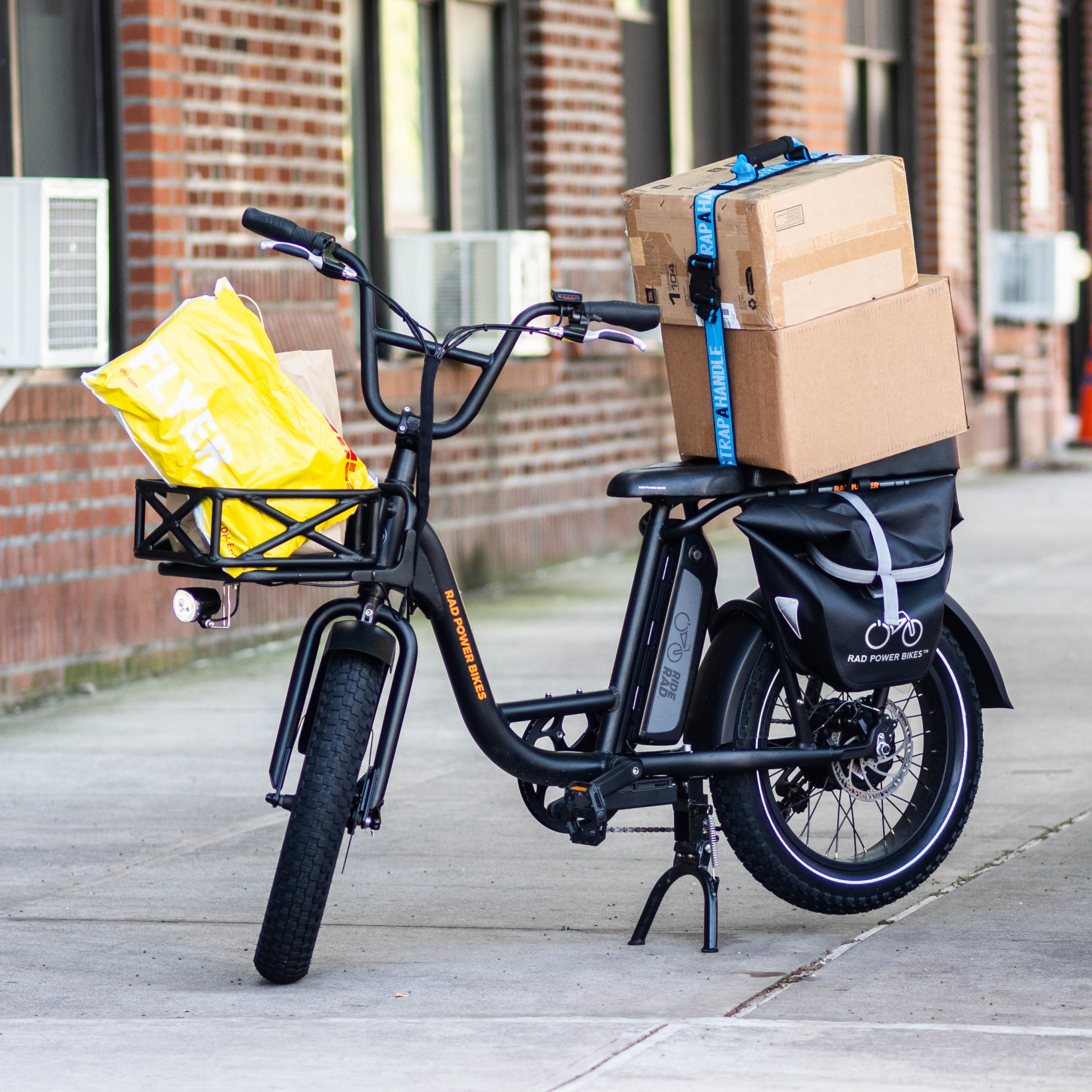 Review The Radrunner Is Part Cargo E Bike Part Moped