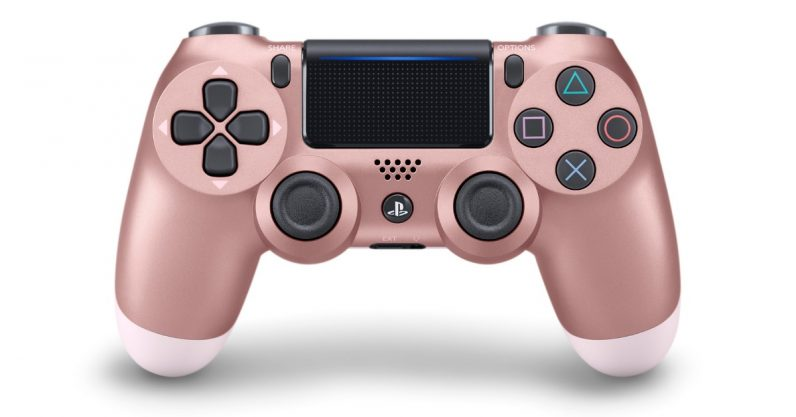 PS4's new Dualshock colors include a 'Rose Gold' that's totally just pink