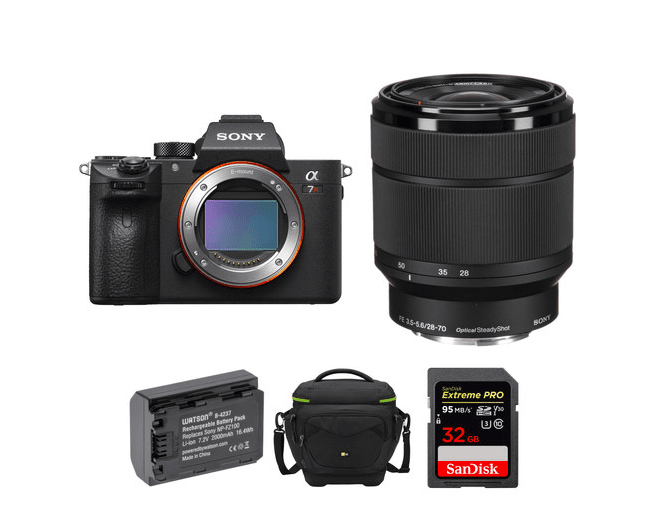 CHEAP: $500 off a complete Sony A7R III photography kit? Why