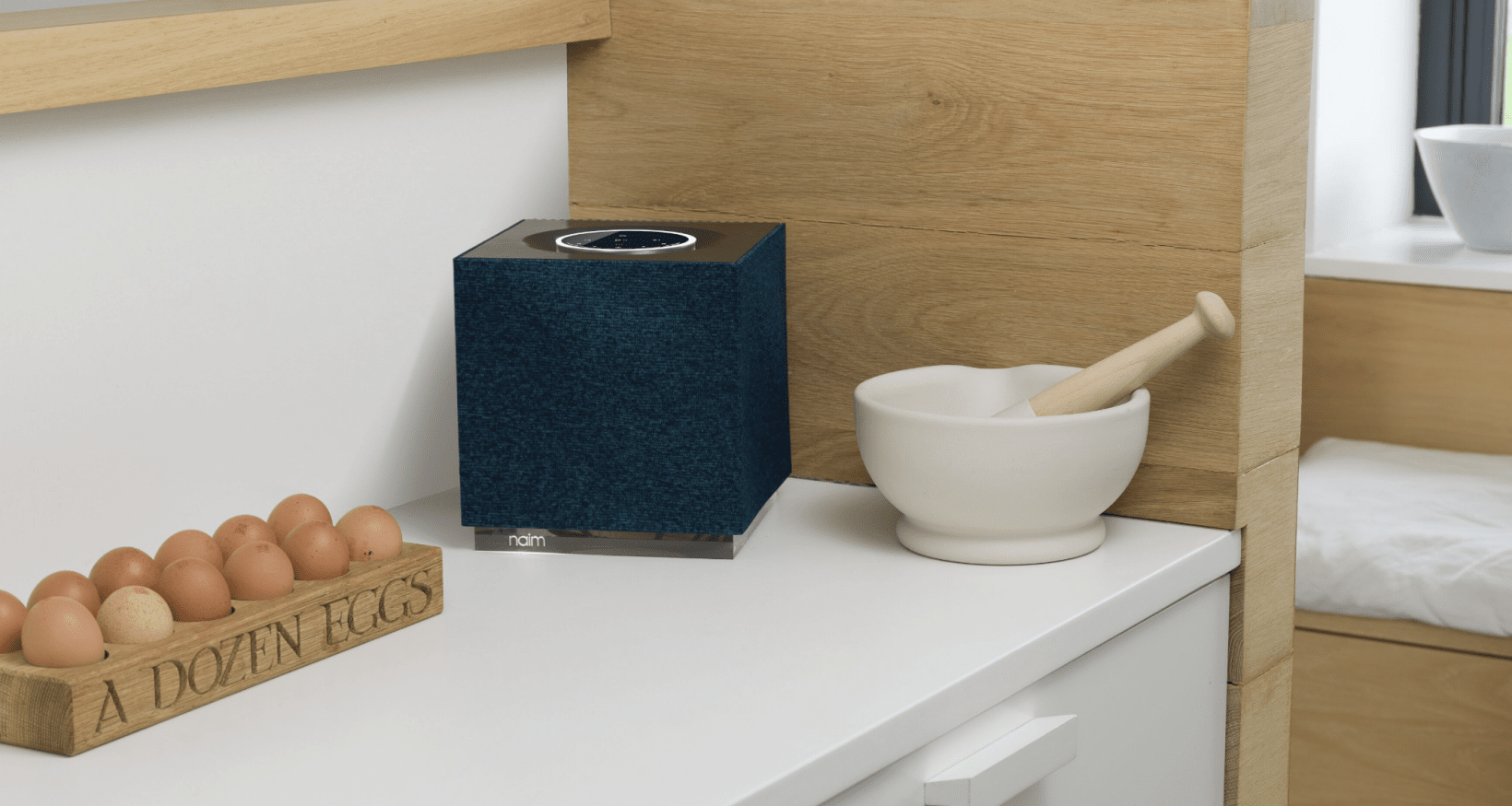 The Naim Mu-so Qb 2 is a compact streaming speaker for audiophiles
