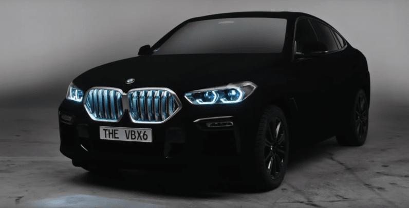 If Batman Owned A BMW, It'd Be This Vantablack X6