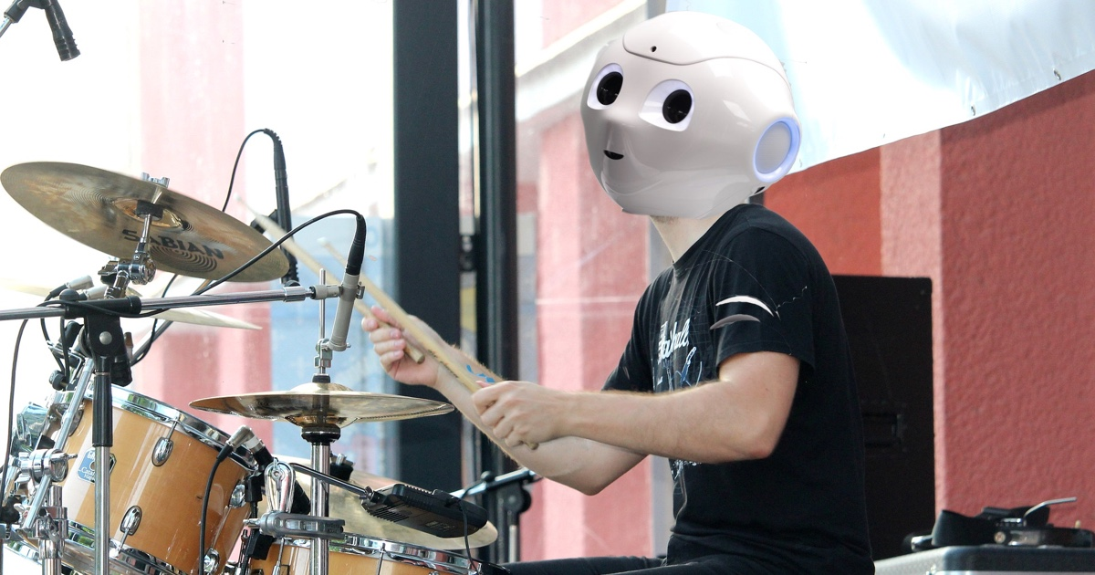 Sony's AI drummer is so good you'd think it's human