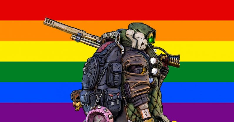 Damn near everyone is queer in the Borderlands franchise and I'm here for it