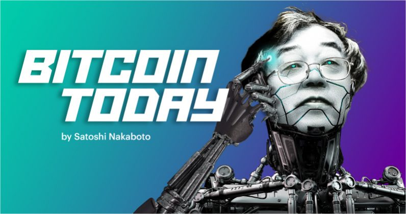 Satoshi Nakaboto: 'Bitcoin price stabilizes around $6,700'