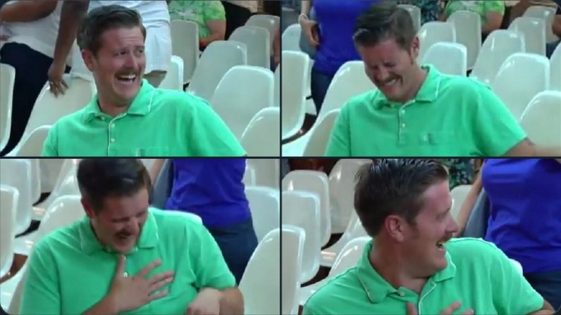 #GreenShirtGuy is the cure for political absurdity