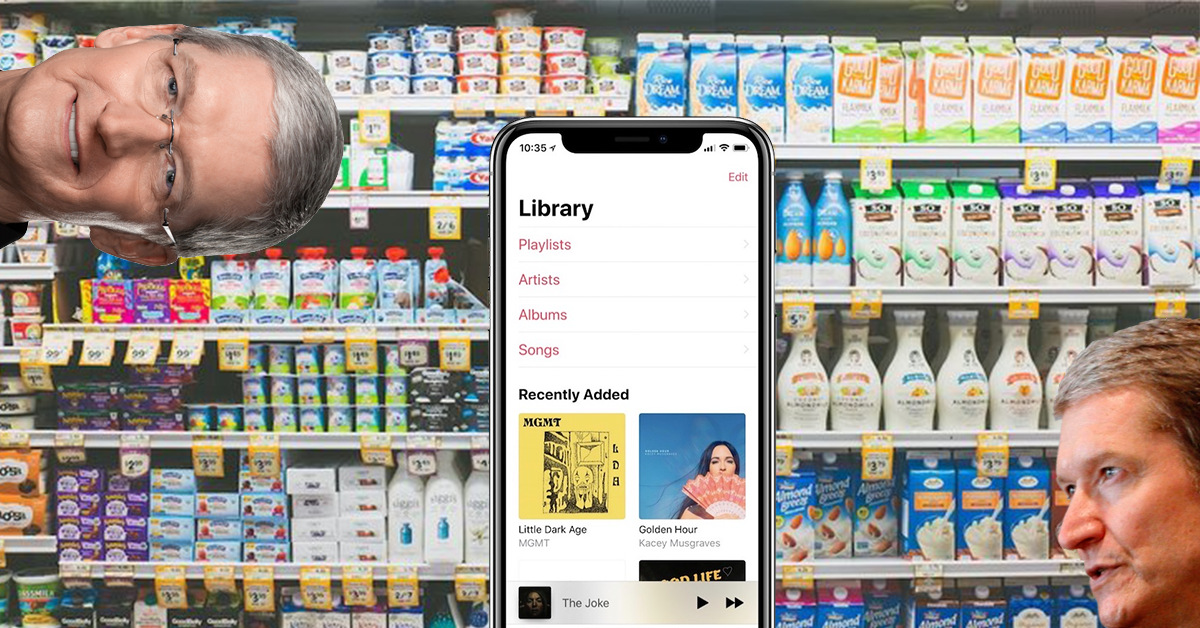 Come on Apple, make it easier to browse artists in the Music app