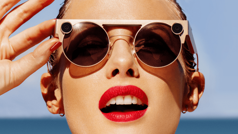 Snap's new Spectacles capture 3D video and aim for the luxury crowd