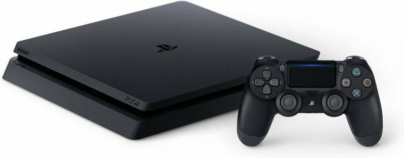 playstation 1TB slim console side
