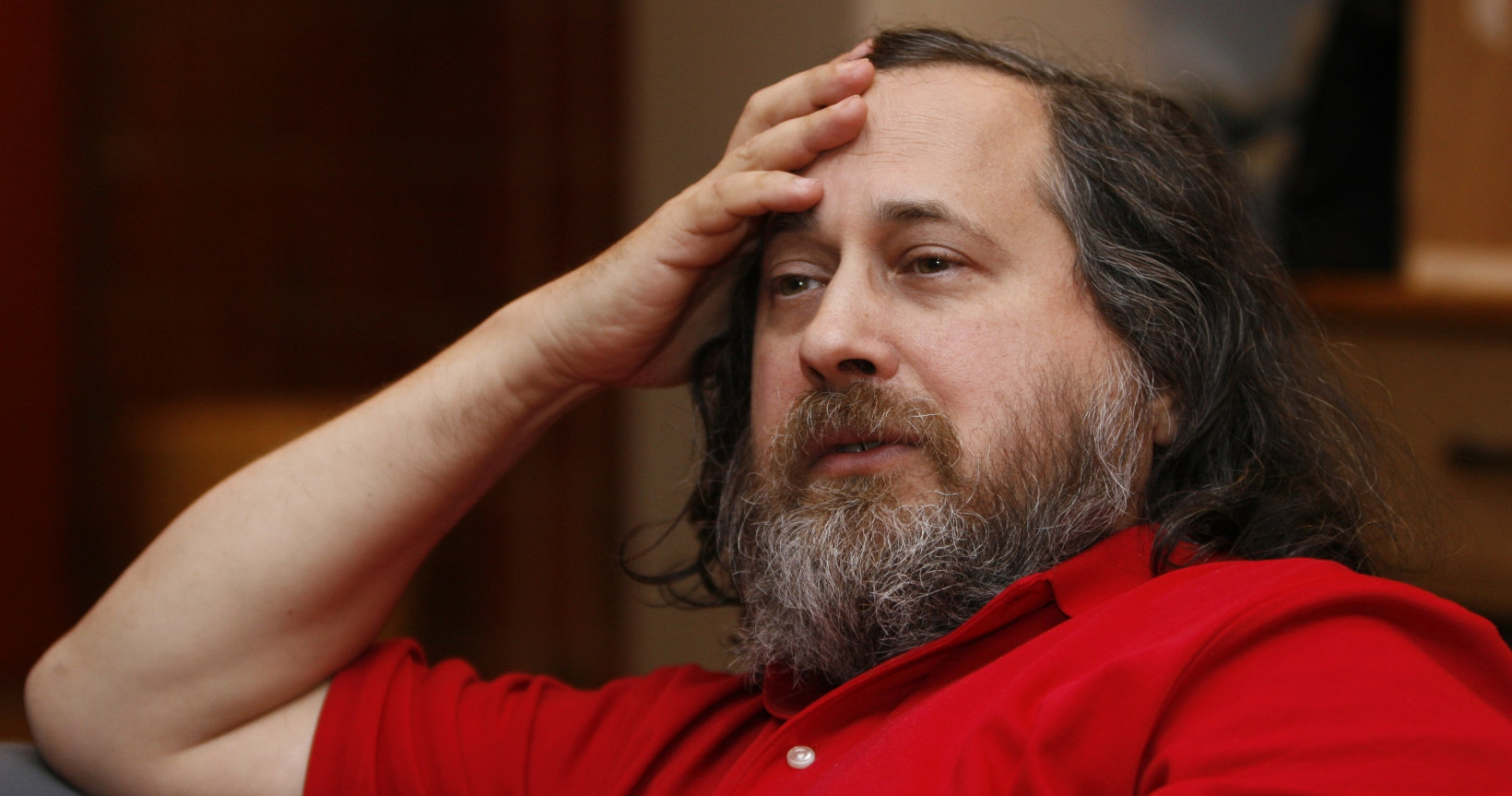 Free software icon Richard Stallman has some idiotic views about pedophilia