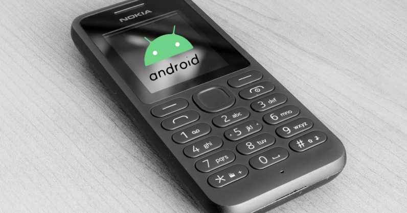 This leaked video shows Android for feature phones might be in development