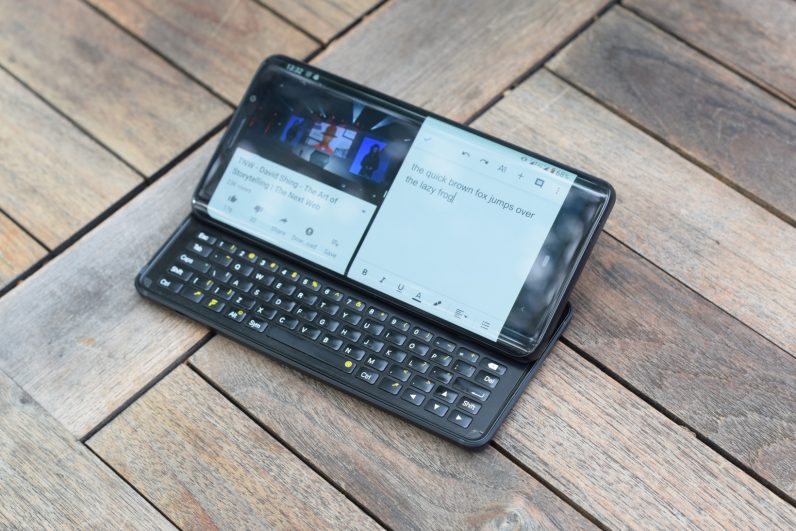 The F(x)tec Pro 1 proves there's room for keyboard slider