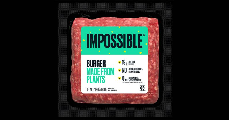 The scarily good Impossible Burger finally lands in (a few) supermarkets