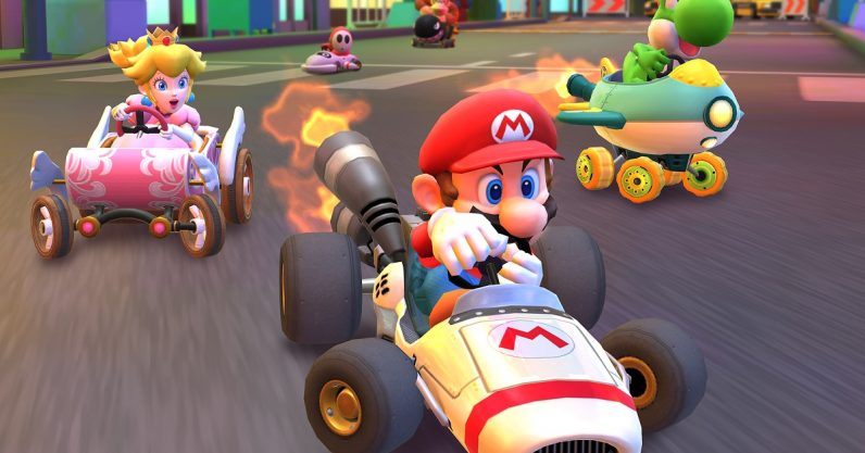 Image result for mario kart world tour