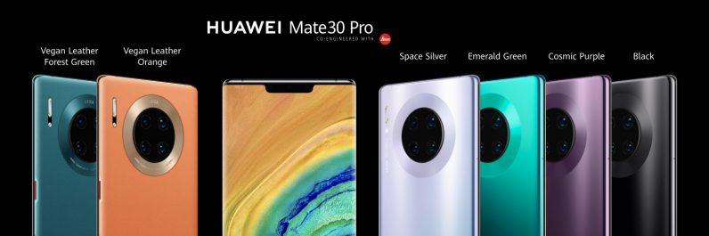 Huawei Mate30 Pro Lineup
