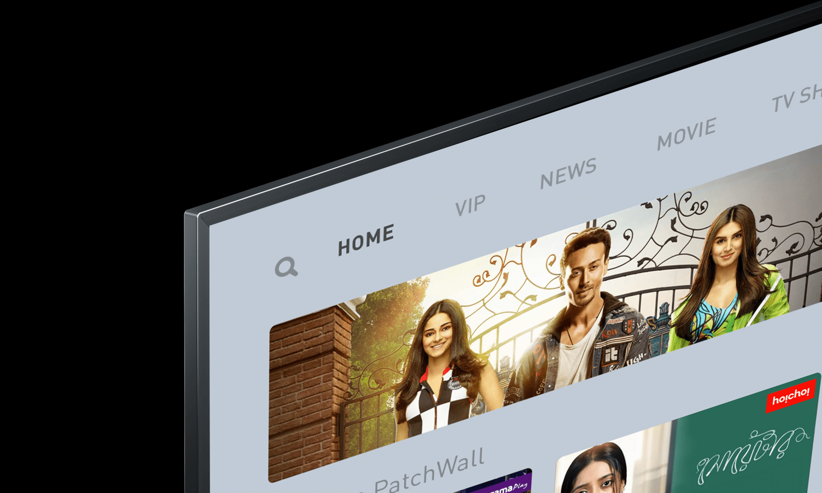 The Mi TV 4X 65-inch features slim bezels measuring just over 1 cm in thickness