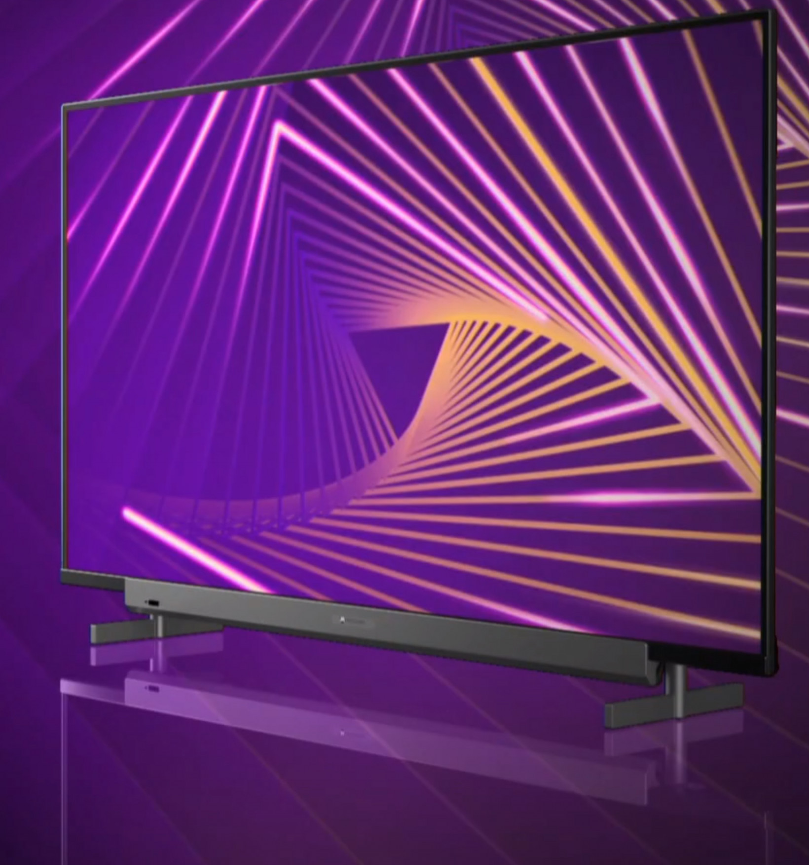 Motorola's first smart TV boasts an IPS panel and 30W front-facing speakers