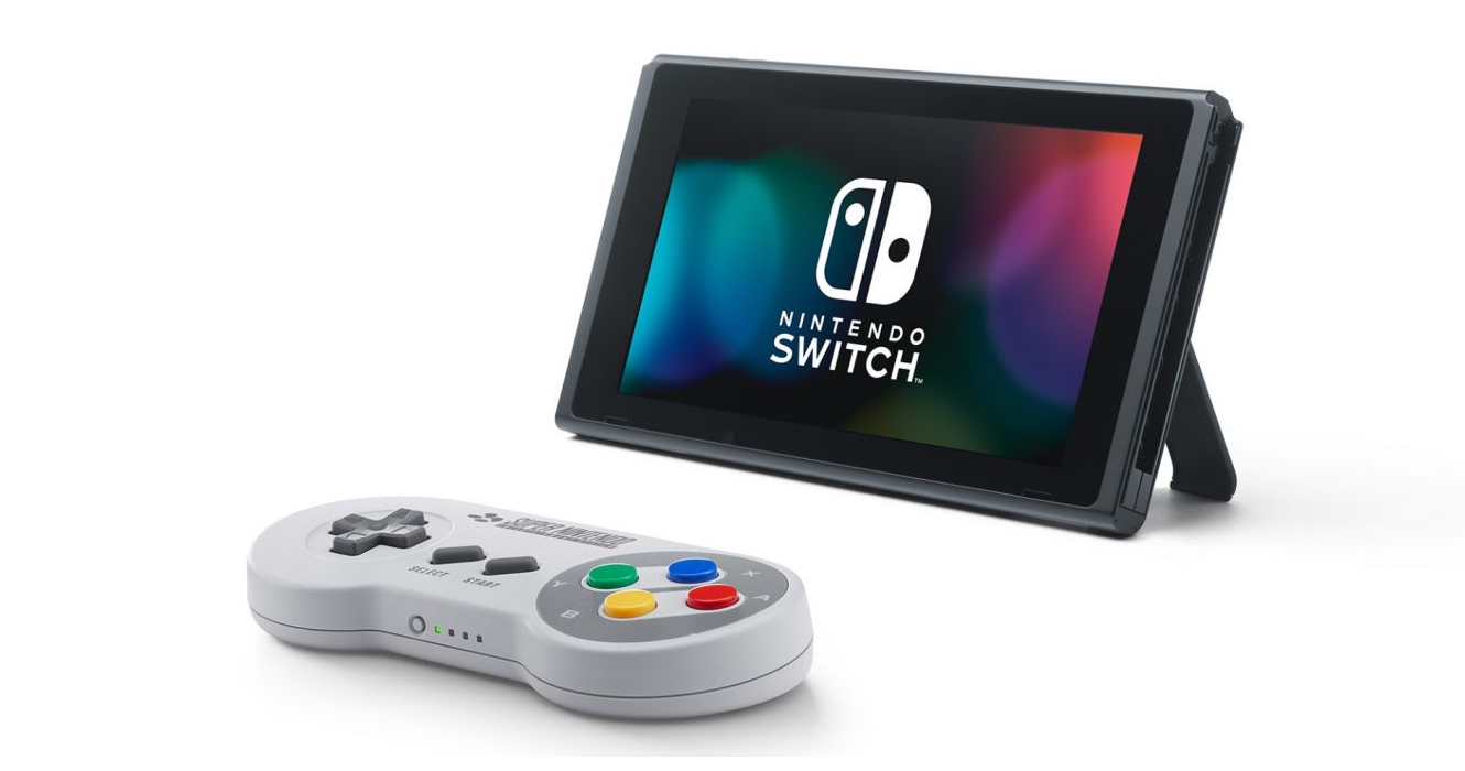 Nintendo launches a $30 SNES-style wireless controller for the Switch