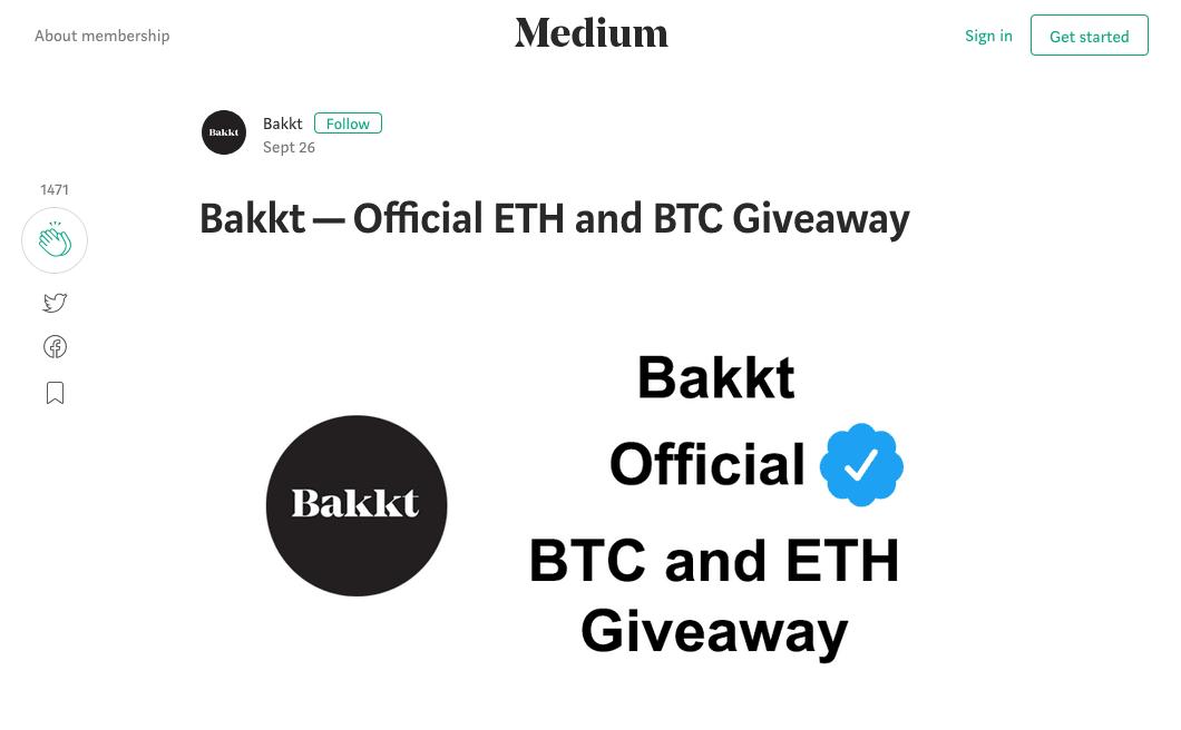 Fake, Bakkt, Bitcoin, Ethereum, Crypto