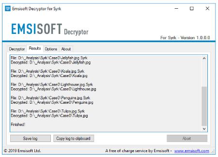 Decryptor, bitcoin, ransomware