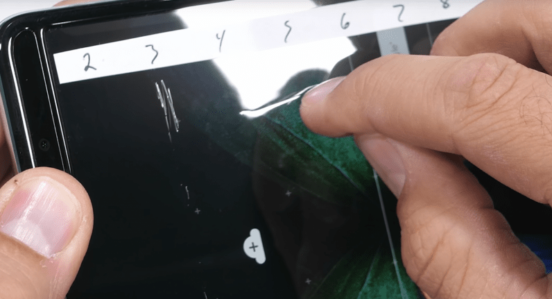 JerryRigEverything's Galaxy Fold torture test shows the phone still isn't very durable