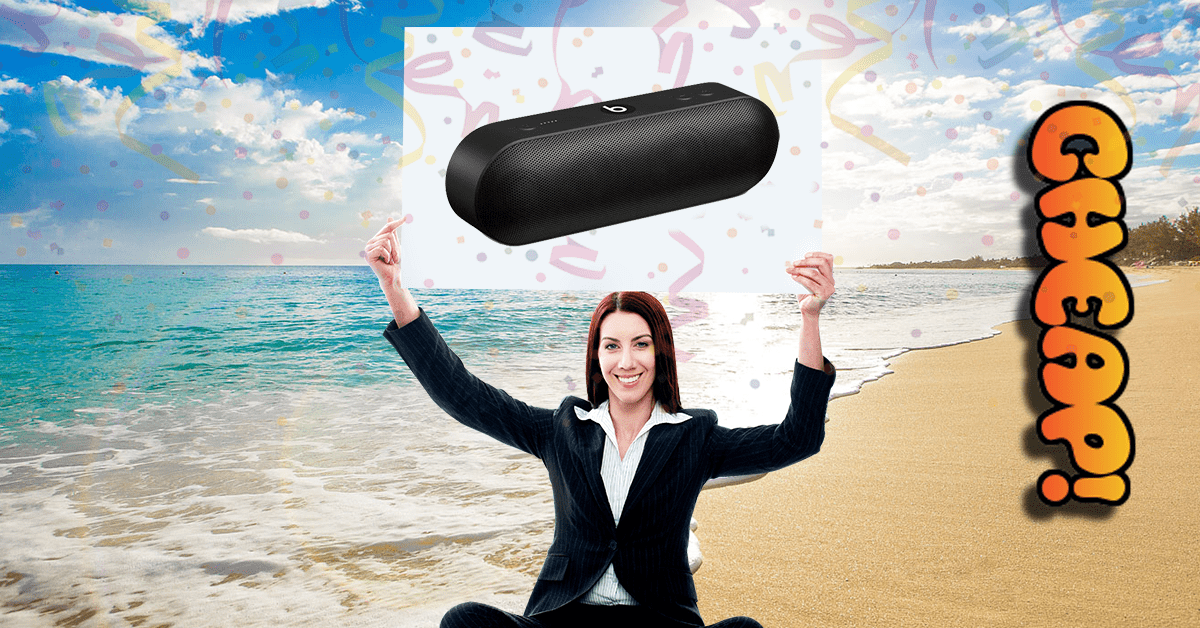 CHEAP: Every day is bass day with 35% off the Beats Pill+ portable bluetooth speaker