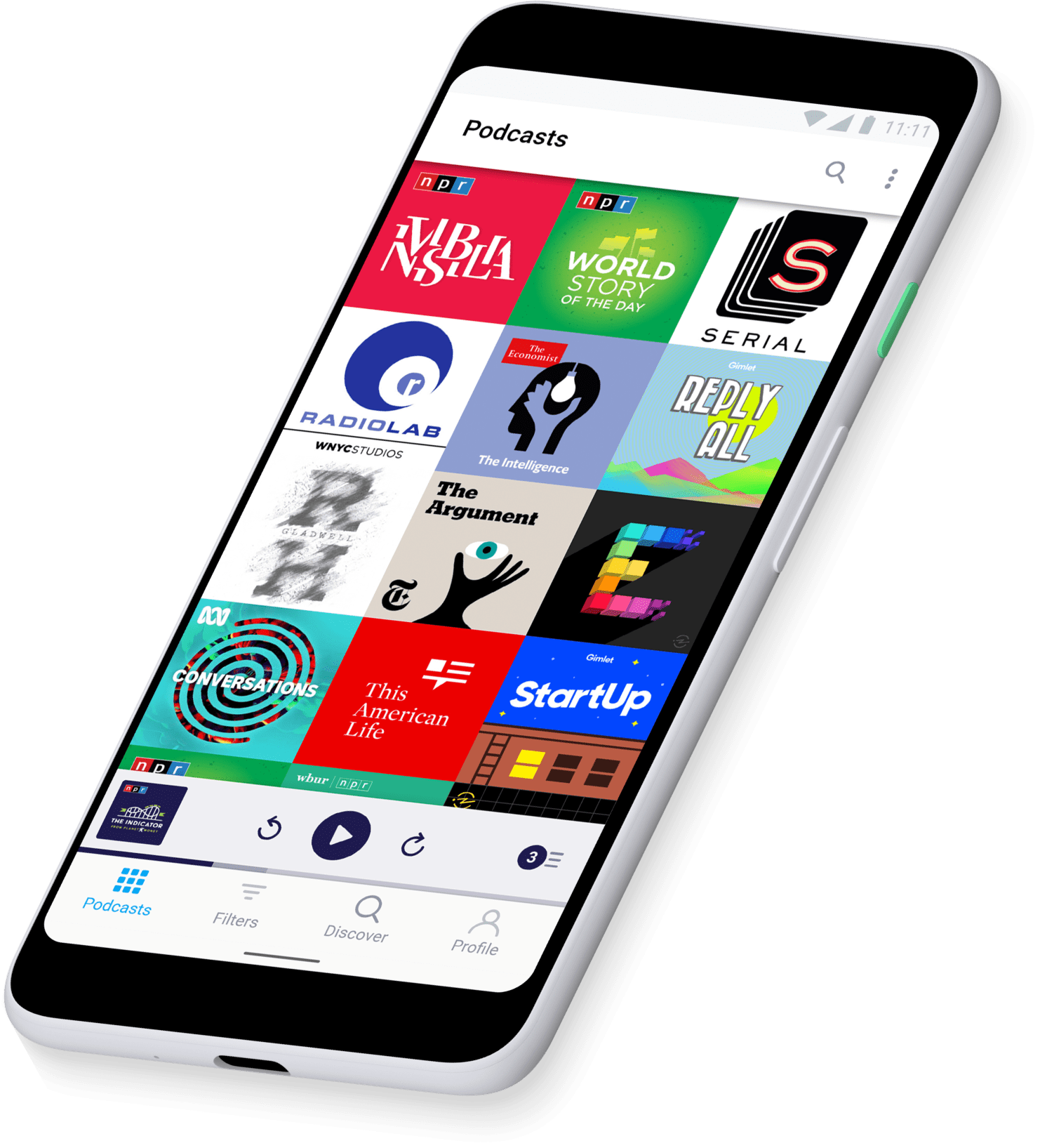 Pocket Casts comes plenty of options to manage your podcasts