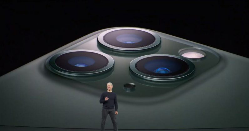 iPhone 11 Pro range Tim Cook