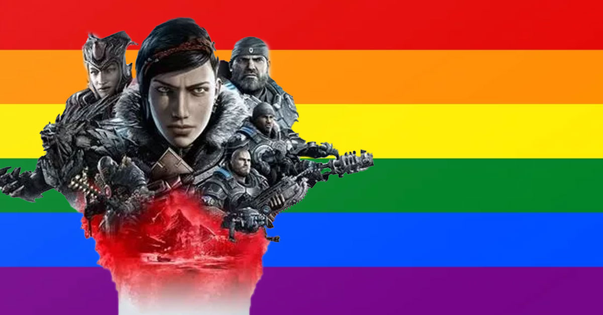 Gears 5 is the latest blockbuster game to welcome the LGBTQ+ gaming community