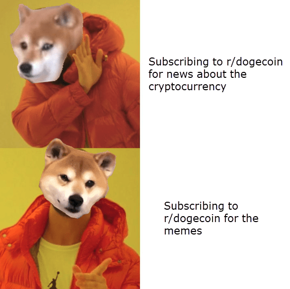 Dogecoin, drake, meme, cryptocurrency