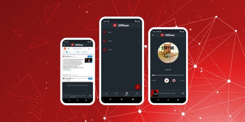 Offliner lets you enjoy your favorite content off the grid, and it's only $30 today