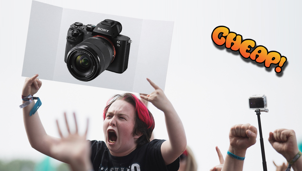 CHEAP: $600 off a Sony A7 II camera kit (with a lens included)? Yes, please