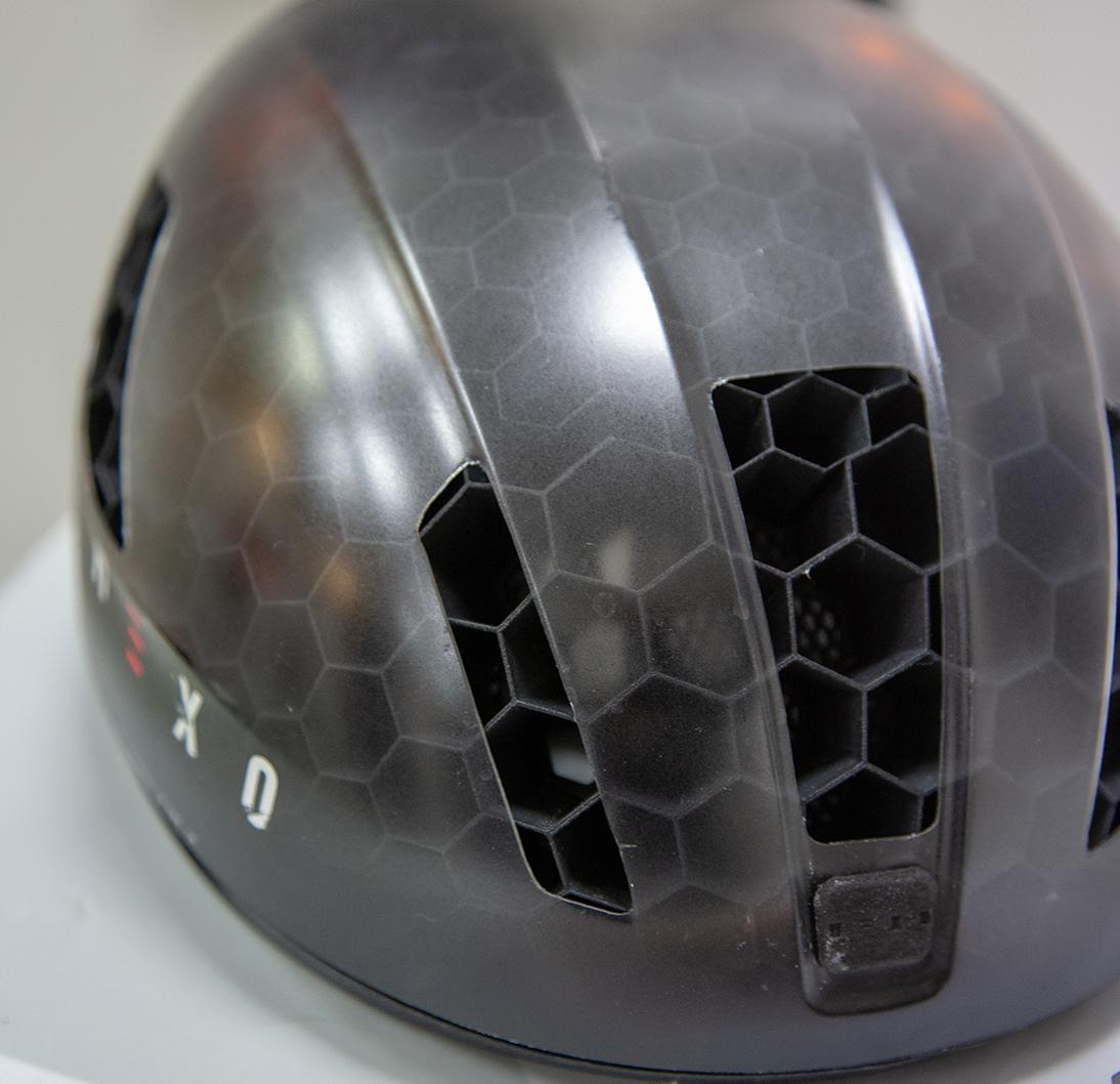Helmet, shell, prototype