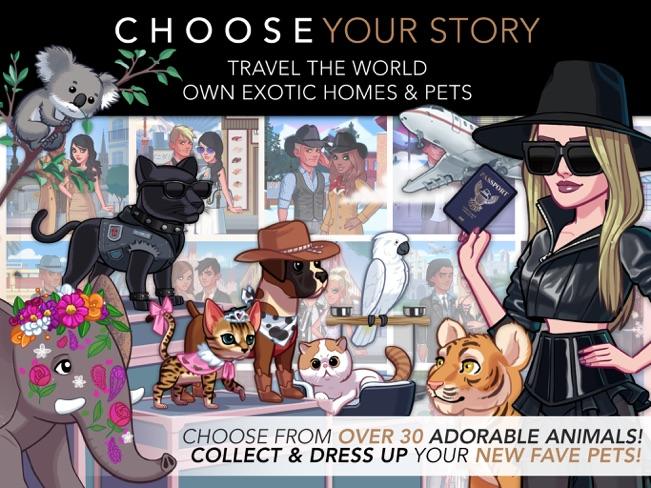 A promo image for the mobile game Kim Kardashian: Hollywood