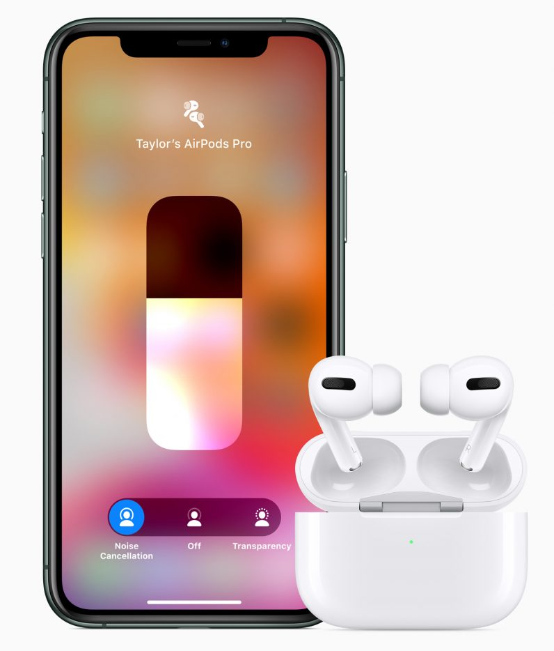 AirPods Pro and iphone