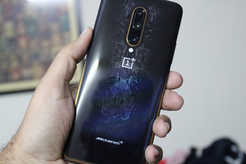 Image result for oneplus 7t pro mclaren edition