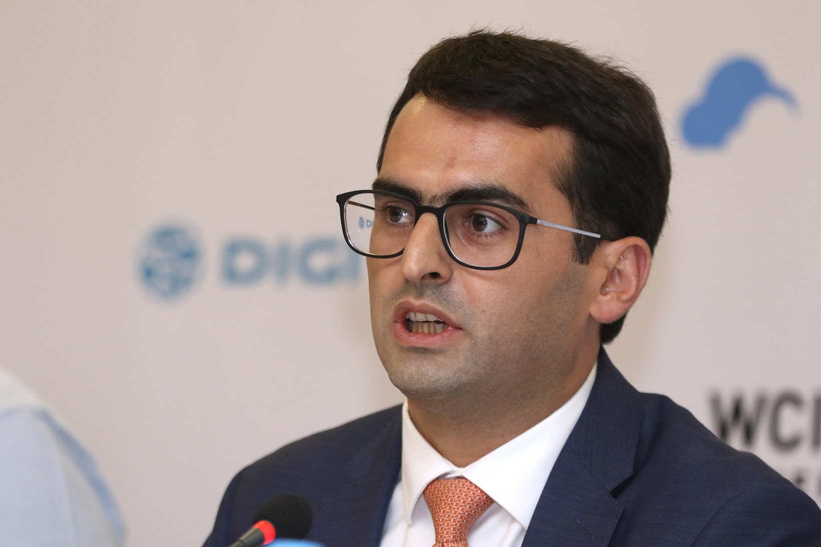 Minister of High Tech Industry of Armenia Hakob Arshakyan at WCIT 2019