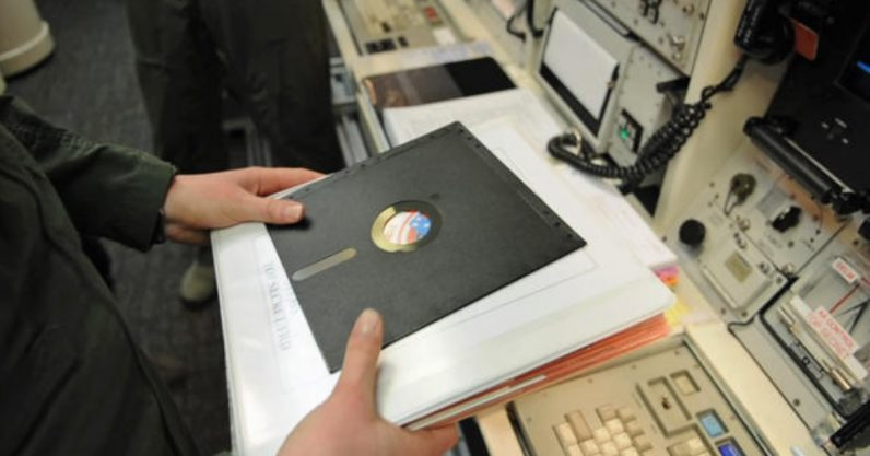 The US nukes will no longer run on plate-sized floppy disks