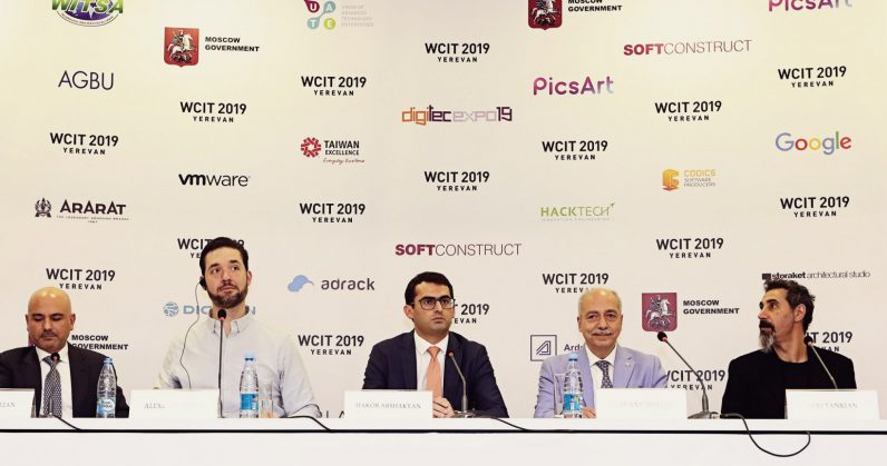 Alexis Ohanian and Serj Tankian team up to help build a social network for Armenia