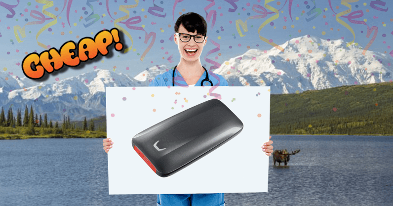 CHEAP: Store all your crap real fast with $270 off the Samsung X5 portable 1TB SSD