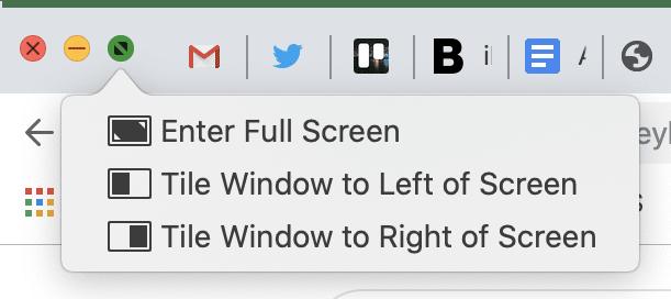 macOS catalina window resizing