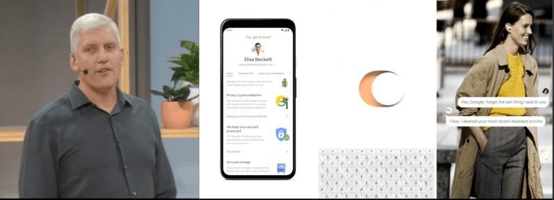 Google Titan security setting